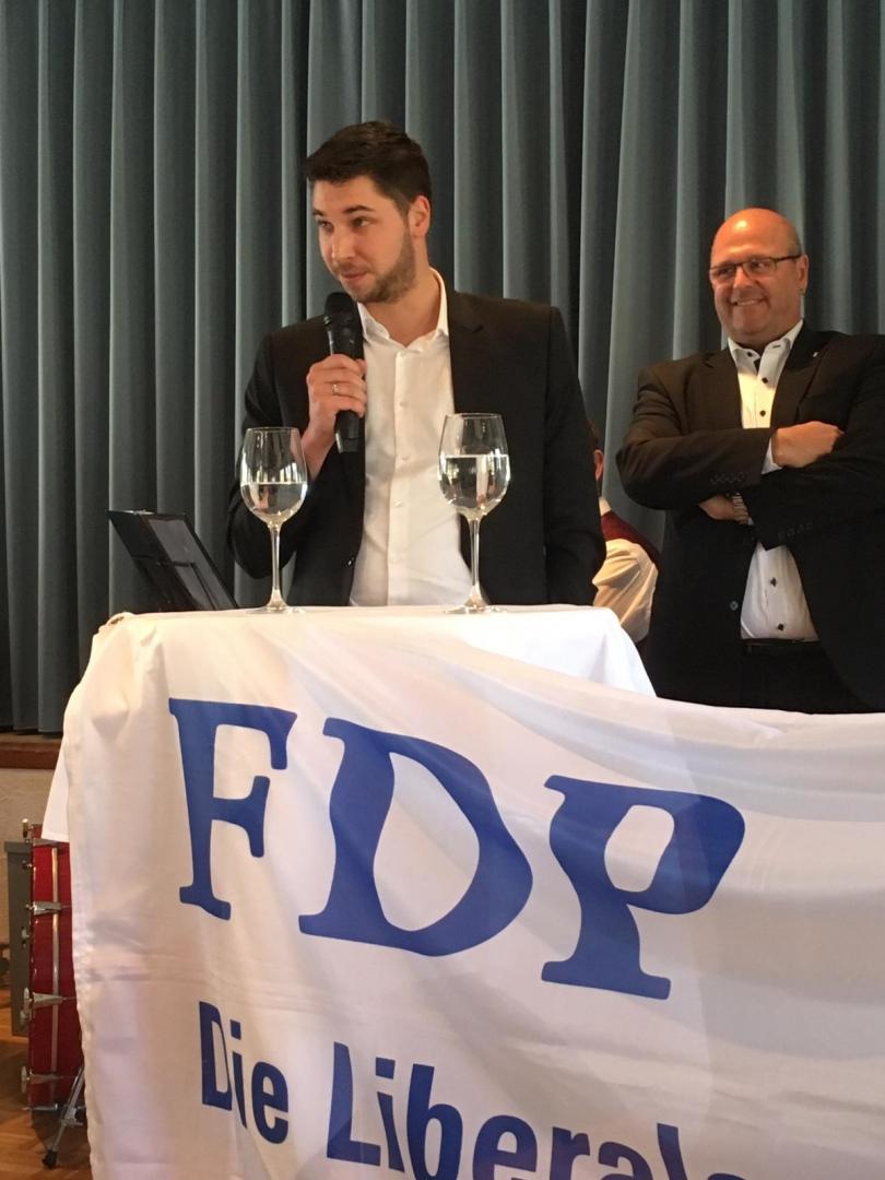 Politveranstaltung bei den FDP-Senioren in Ebersecken