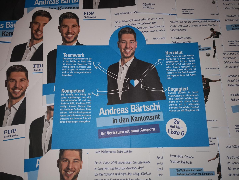 Offizieller Wahlkampf Flyer
