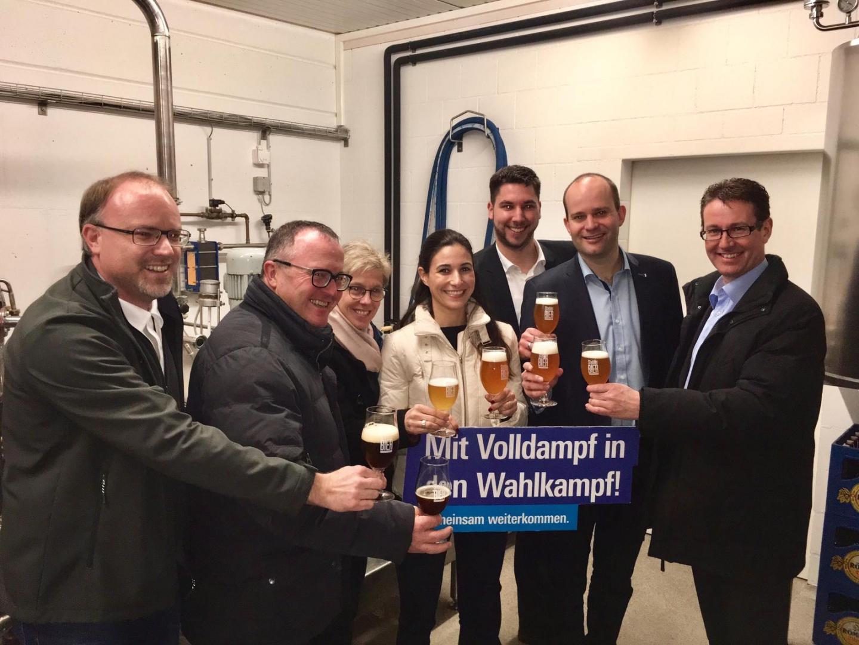 Feierabend-Bier mit Stahler-Bier in Grossdietwil